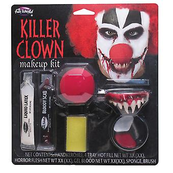 Bristol Novelty Unisex Adults Killer Clown Make Up Kit