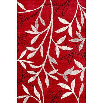 Ånd blad i rødt
