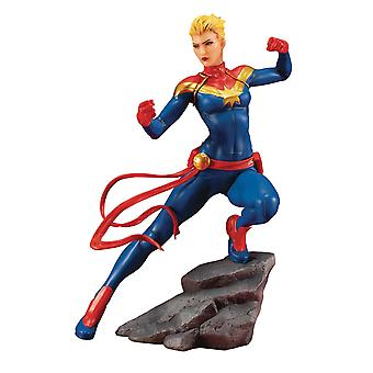 Kotobukiya 1:10 Captain Marvel ARTFX+ Statue Marvel Comics Avengers Series