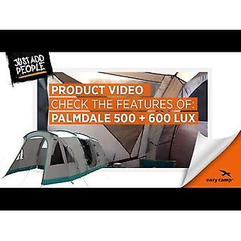 Easy Camp Tour Palmdale 500 Lux 5 Person 3 Room Tunnel Tent Grey