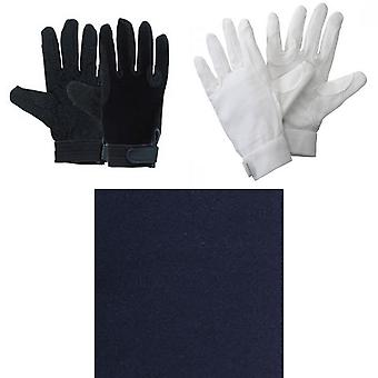 Harry Hall Adults Unisex TEX Cotton Pimple Grip Gloves