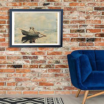 Winslow Homer - Rowboat Poster Print Giclee