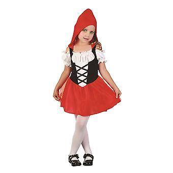 Toddlers Red Hood Sweetie Fancy Dress Costume (2-3 Years)