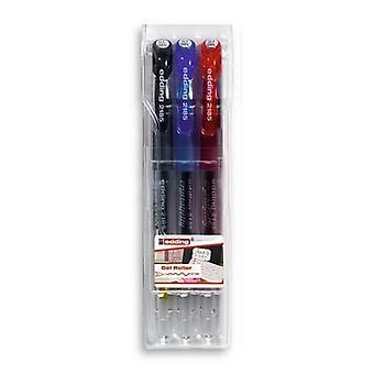 edding-2185 ass.gel roller basic 3PC 0,7 mm / 4-2185-3099
