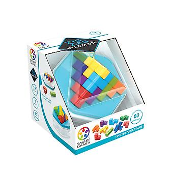 SmartGames Zig Zag Puzzler 3D One Player Cube Puzzle Game 2 Play Modes Brain