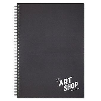 The Art Shop Skipton Wirebound Sketchbook A3 (Portrait)