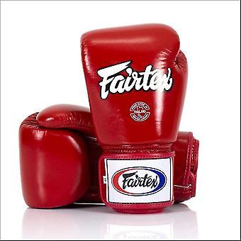 Fairtex uniwersalne rękawice bokserskie - czerwony