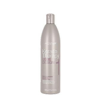 AlfaParf Keratin Therapy Lisse Design 1 Deep Cleansing Shampoo 500ml