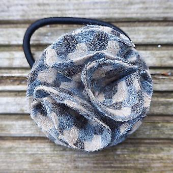 Children's flower hair bobble holborn taupe