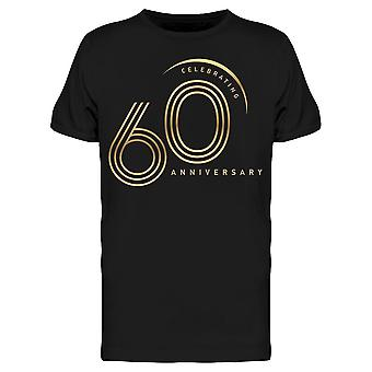 Juhlii 60 Anniversary Tee Men's -Image Shutterstock