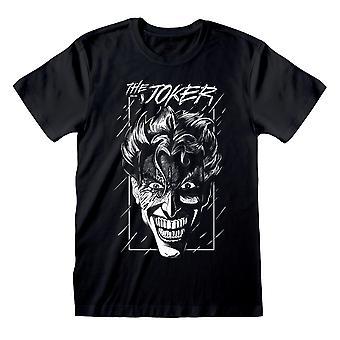 DC Comics Batman Joker Skizze Männer's T-Shirt | Offizielles Merchandise