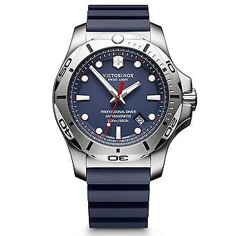 Victorinox Swiss Army I.N.O.X Professional Diver Blue Dial Blue Rubber Bracelet Men's Watch 241734 RRP £479