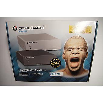 Oehlbach XXL Phono PreAmp Ultra  High-End Phono-Vorverstärker für Plattenspieler und MM und MC Tonabnehmer