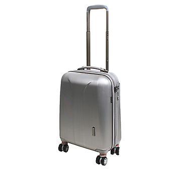 March15 Nieuwe Carat SE Handbagage Trolley S, 4 wielen, 55 cm, 35 L, zilver