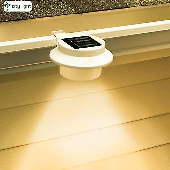 Solar Powered Outdoor LED Gutter Lights