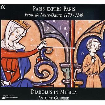 Diabolus in Musica/Guerber - Paris Expers Paris: Ecole Notre-Dame, 1170-1240 [CD] USA importare