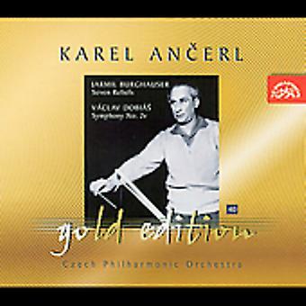 Burghauser/Dobias - Jarmil Burghauser: Seven Reliefs; V Clav Dobi S: Symphony No. 2 [CD] USA import