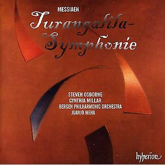 O. Messiaen - Messiaen: Turangal La-Symphonie [CD] USA import