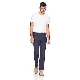 Goodthreads Miehet's Athletic-Fit 5-Pocket Chino Pant, Navy,, Navy, Koko 36W x 31L