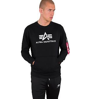 Alpha Industries Men's Sweatshirt 3D Logo