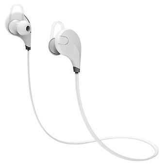 ワイヤレススポーツヘッドフォン - ホワイト
