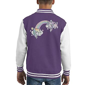 My Little Pony Rainbow Over It Kid's Chaqueta Varsity