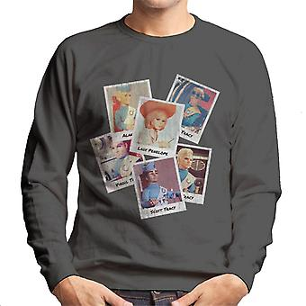 Thunderbirds Caractère Vintage Polaroid Design Homme-apos;s Sweatshirt