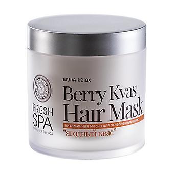 Berry Kvas Hair Mask with Vitamins 400 ml of cream