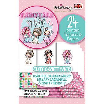 Polkadoodles Winnie Fairytale 2 Topper Pack