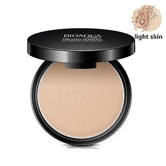 Matte Pressed Powder Concealer for Face Oil Control Setting - Foundation for Facial Make Up with Minerals