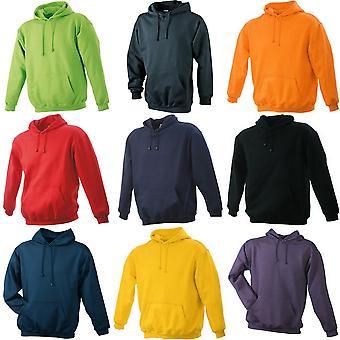 James en Nicholson Unisex Hooded Sweatshirt