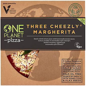 One Planet Frozen Three Cheezly Margherita Vegan Pizzas
