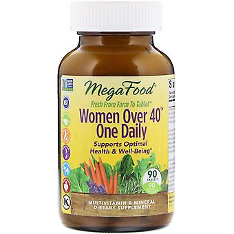 MegaFood, Vrouwen ouder dan 40 One Daily, 90 tabletten