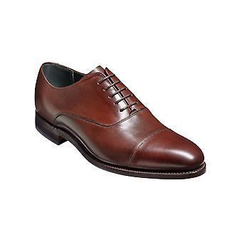 Barker Winsford - Becerro de Nogal Oscuro Oxford de cuero hecho a mano para hombres Zapatos Barker