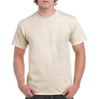Gildan G5000 Plain Heavy Cotton T Shirt in Natural