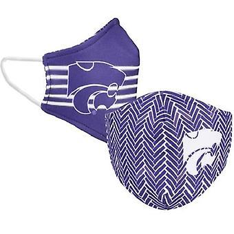 Kansas State Wildcats NCAA Desden Masque facial réversible