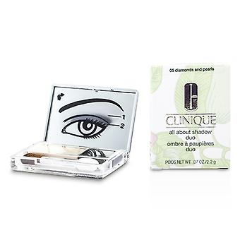 Clinique All About Shadow Duo - # 05 Diamonds and Pearls 2.2g/0.07oz