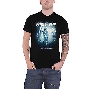 Machine Head T Shirt Through The Ashes of Empires Band Logo Official Mens Black