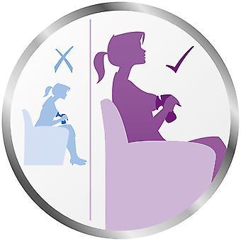 AVENT Comfort Manual Breast Pump cu sticla