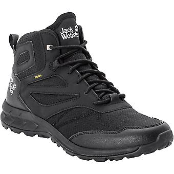 Jack Wolfskin Mens Woodland Texapore Mid Walking Boots
