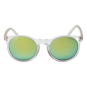 Cheapo Swamis Sunglasses - Transparent / Silver Mirror
