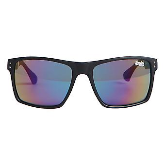 Superdry SDR Yakima Sunglasses - Matte Black / Triple Fade Revo