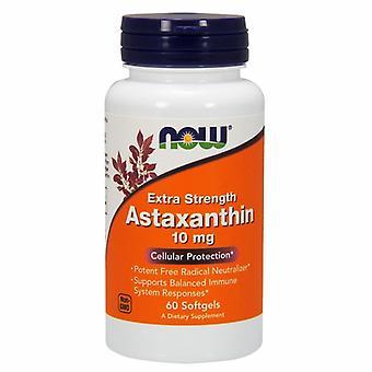 Now Foods Astaxanthin, 10 mg, 60 sgels