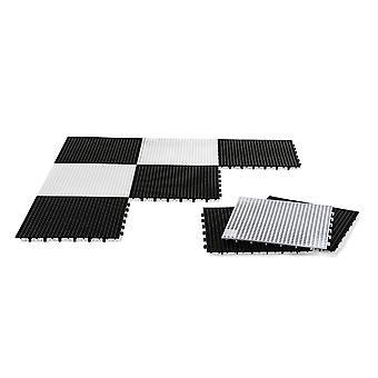 Rolly toys giant chess and checkers draughts base for 3+ years - black and white