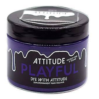 Attitude Semi Permanent Cruelty-free & Vegan Hair Dye - Playful Purple 135ml
