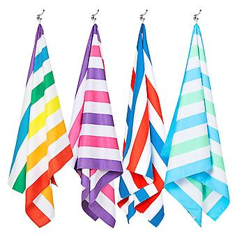 Dock & bay quick dry beach towels - summer - set of 4 (b)