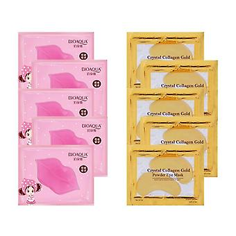 Antiging Collagen Lip and Eye Mask para Humedecer y Nutrir
