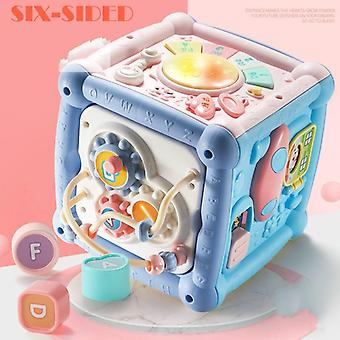 14 I 1 Hexahedral Multi-function Toy Table For's (multicolor)