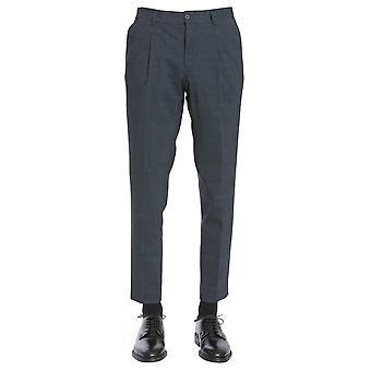 Traiano Tp06tz06tc03 Men's Grey Nylon Pants