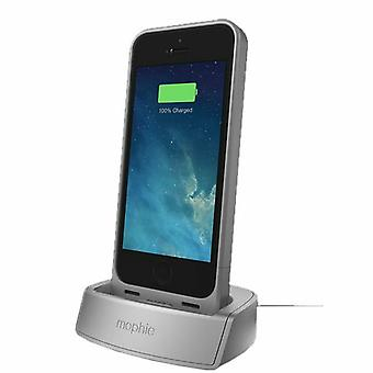 Mophie Aluminum Desktop Charging Dock for Juice Pack 5/5s - Silver